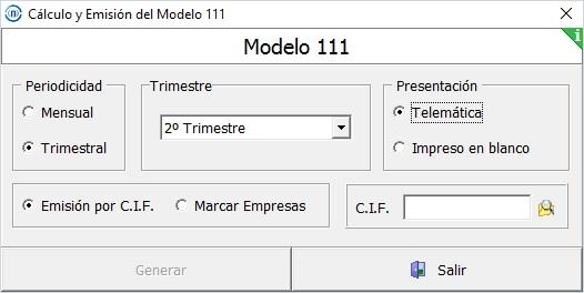 Presentaci n del modelo 111 desde msnomina microdata for Oficina virtual de la agencia tributaria